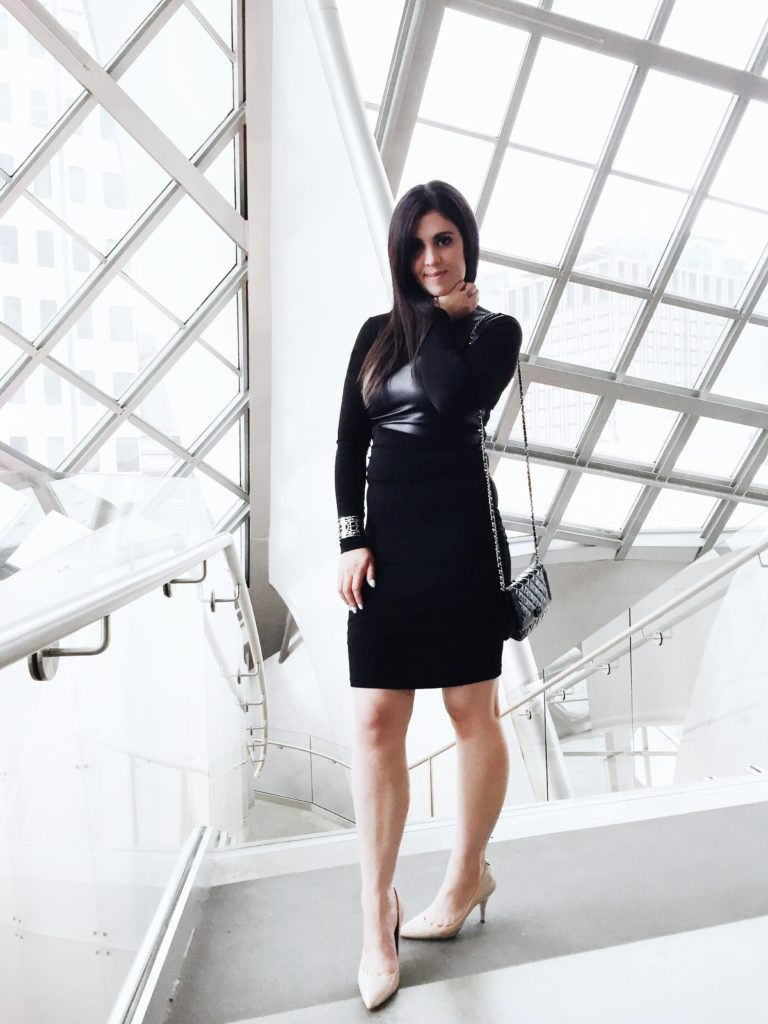 Joeffer caoc black dress